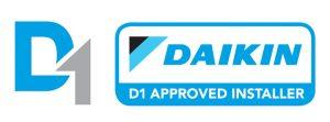 daikin D1 approved air conditioning installer